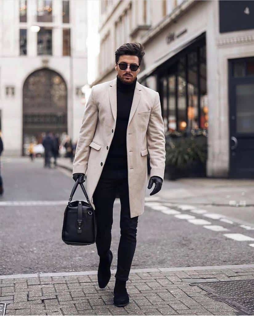 Over Coat Dapper Outfit