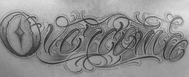 Overcome Tattoo Designs For Men