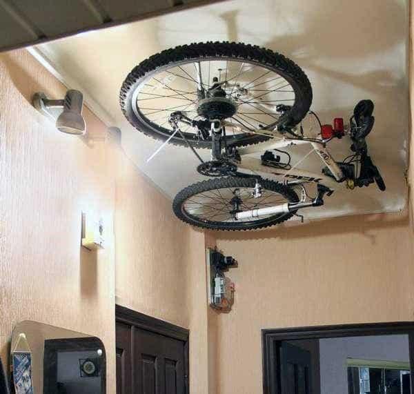 Overhead Bicycle Storage Ideas