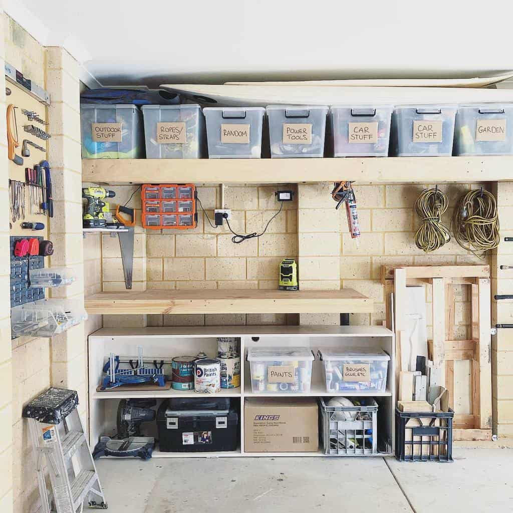 overhead shed storage ideas _prettyliving