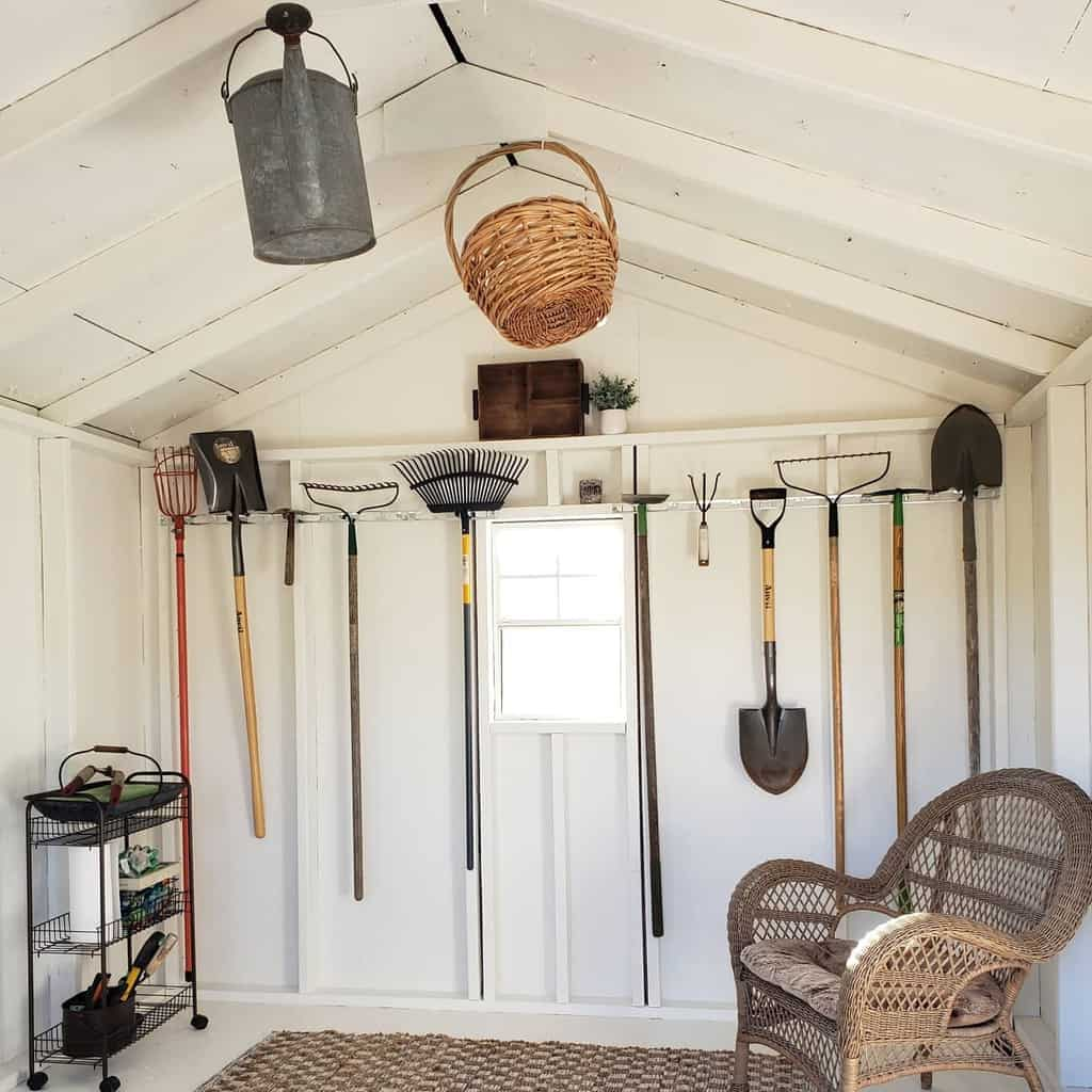 overhead shed storage ideas ourtraveledventures