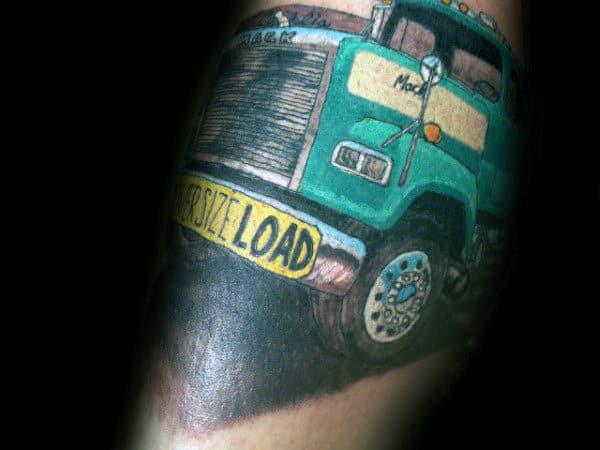 Oversize Load Guys Semi Truck Arm Tattoos