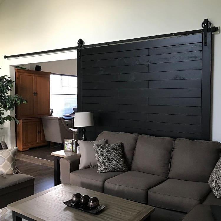 Oversized Sliding Painted Barn Door