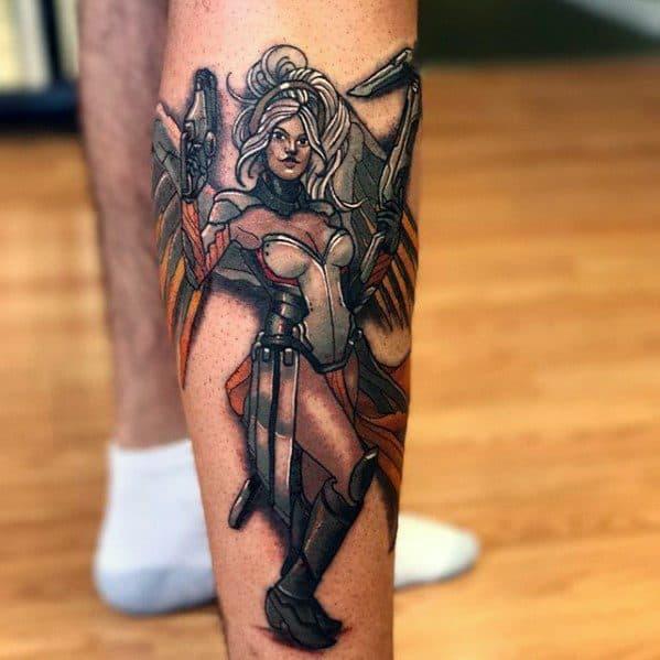 Overwatch Mens Tattoo Ideas