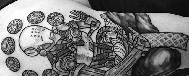 Overwatch Tattoo Designs For Men