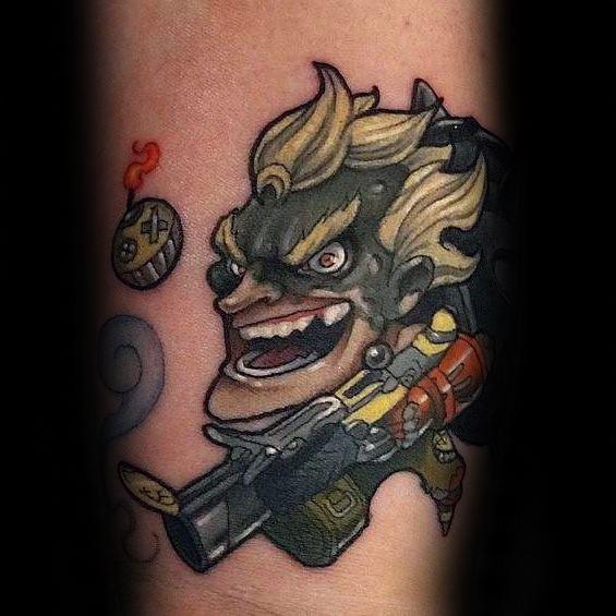 Overwatch Tattoos For Gentlemen