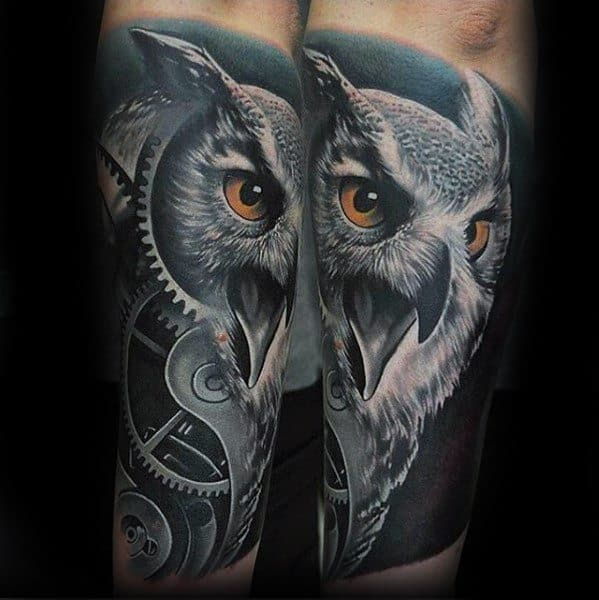 Owl Greatest Male Tattoos