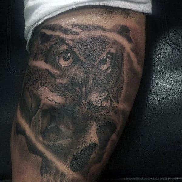 Owl Tattoo Meaning For Men
