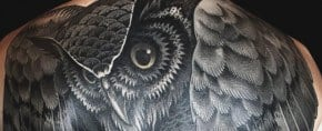 70 Owl Tattoos For Men – Creature Of The Night Designs