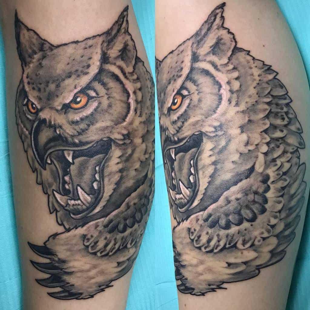 Owlbear Dungeons And Dragons Tattoos Janneteaumath