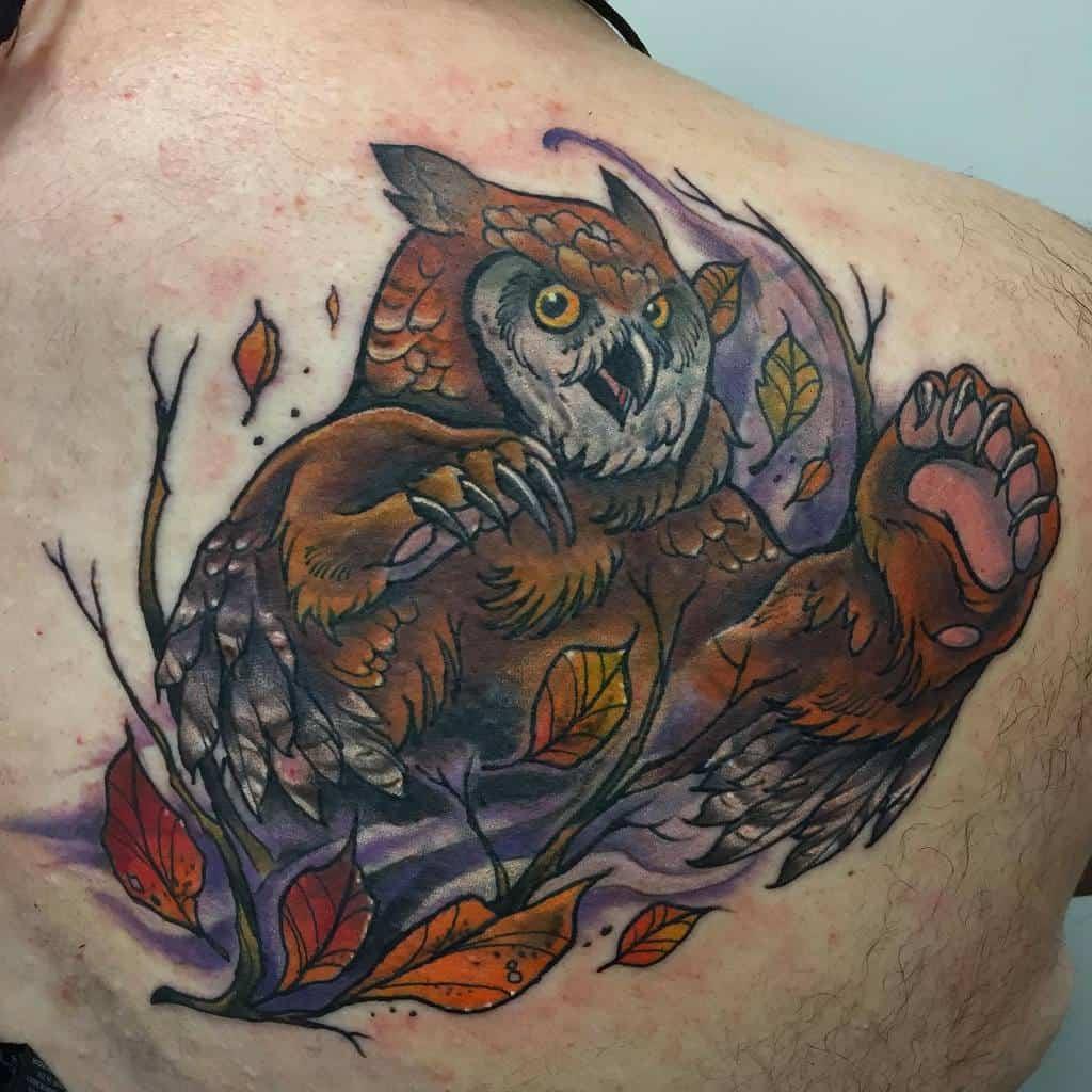 Owlbear Dungeons And Dragons Tattoos Necromandi