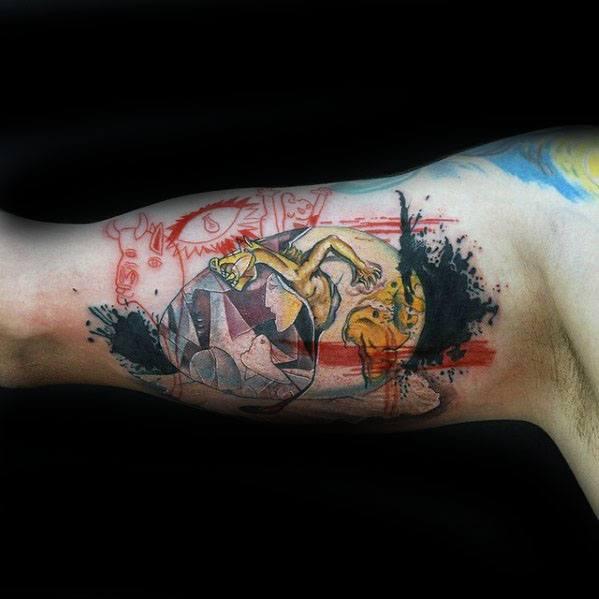 Pablo Picasso Male Tattoo Designs