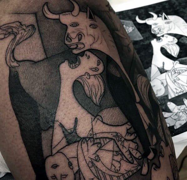 Pablo Picasso Tattoo Ideas For Gentlemen