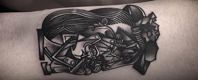 Pablo Picasso Tattoos For Men