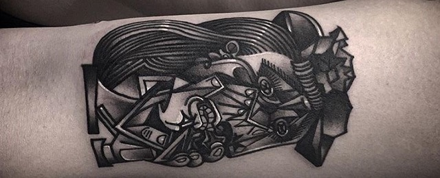 60 Pablo Picasso Tattoos For Men – Artistic Design Ideas