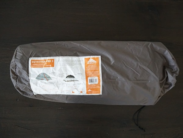 Packed In Bag Kelty Outfitter Pro 3 Tent