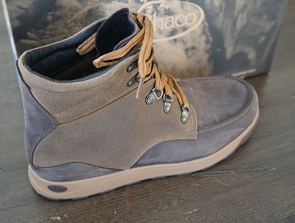 Padded Collar Mens Chaco Teton Boots
