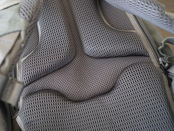 Padded Comfortable Maxpedition Riftblade Backpack Back Panel