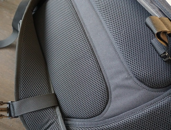 Padded Comfortable Perforated Foam Mission Workshop The Rhake Backpack Back Panel