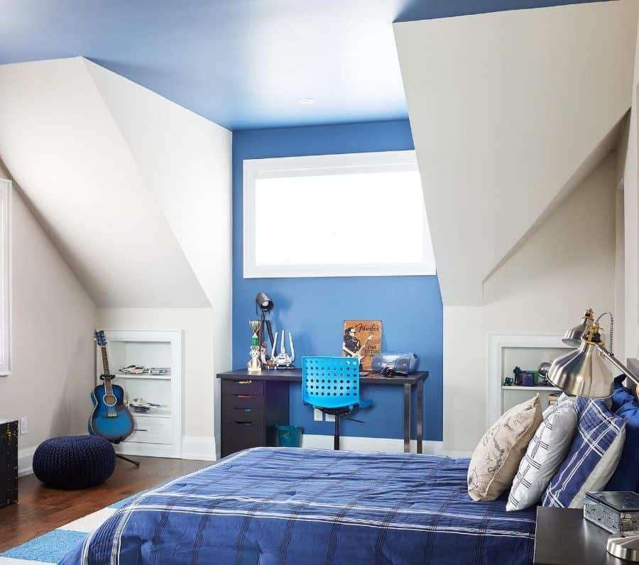 painted ceiling bedroom paint ideas thegattigroup
