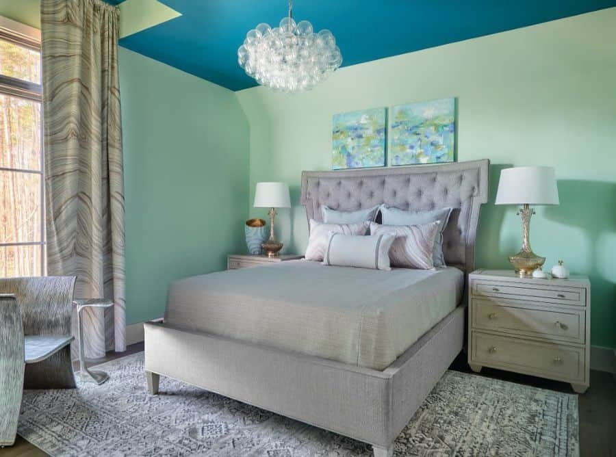 painted ceiling bedroom paint ideas zacharylukedesigns