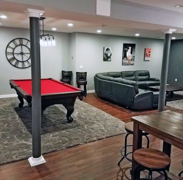 Top 50 Best Basement Pole Ideas