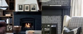 Top 50 Best Painted Fireplace Ideas – Interior Designs