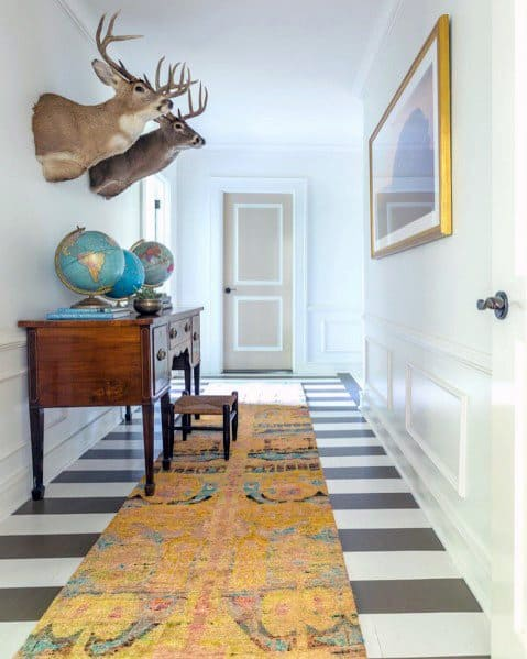 Top 60 Best Painted Floor Ideas