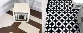 Top 60 Best Painted Floor Ideas – Flooring Pattern Designs