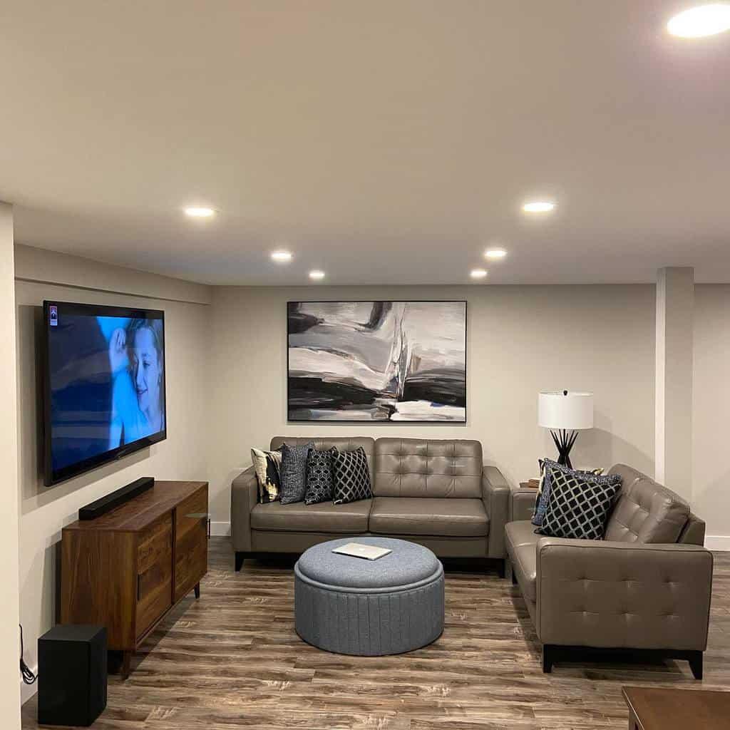 painted low basement ceiling ideas evangelosdantis