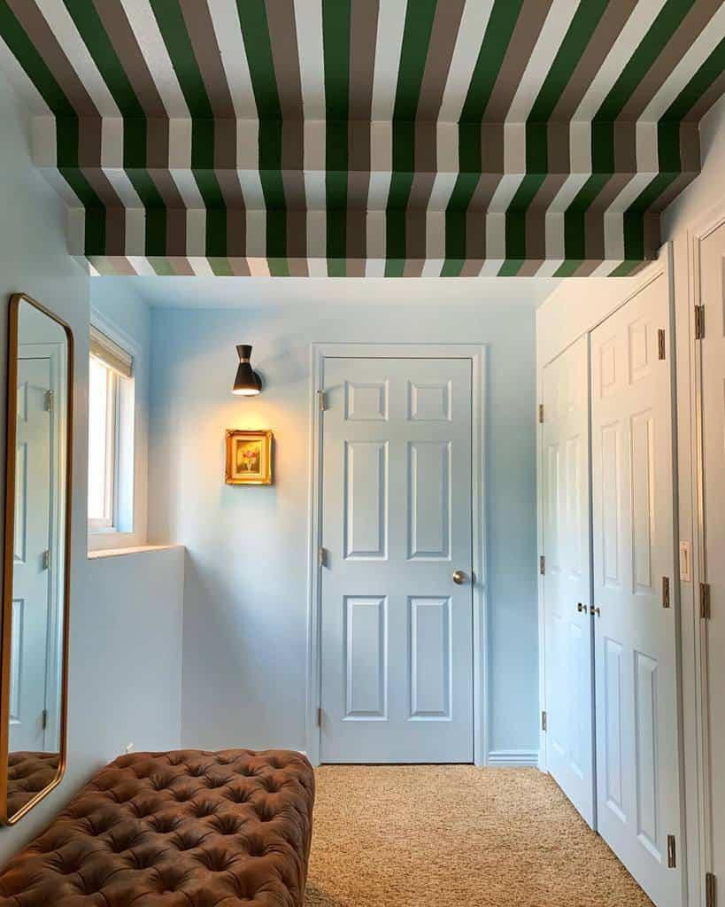 painted low basement ceiling ideas jasmine_bible_design
