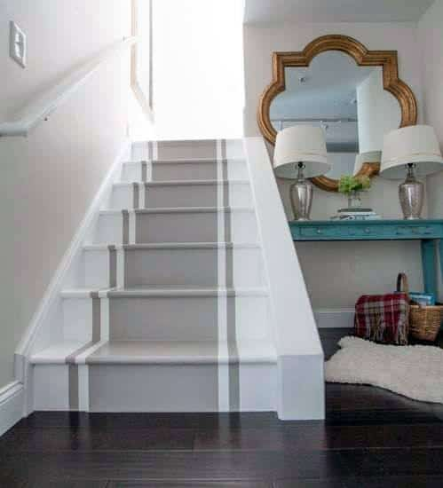 Top 70 Best Painted Stairs Ideas