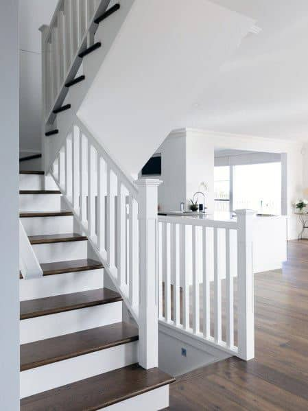 Painted Staircase Interior Design