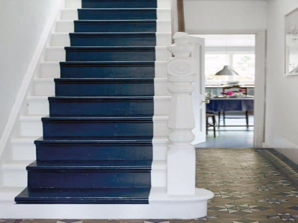 Painted Stairs Cool Interior Ideas
