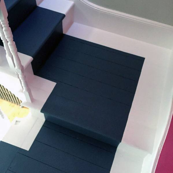 Painted Stairs Home Ideas