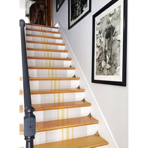 Painted Stairs Idea Inspiration