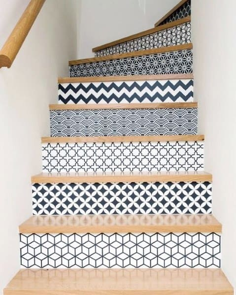 Painted Stairs Ideas Inspiration