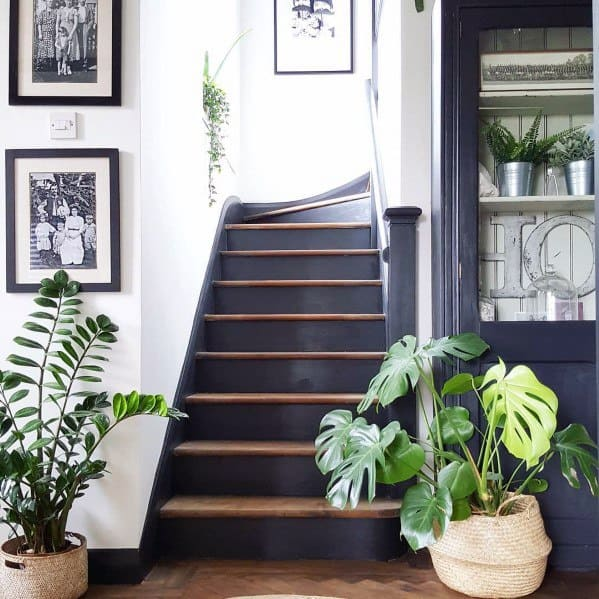 Painted Stairs Interior Design