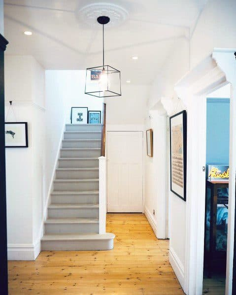 Painted Stairs Interior Ideas