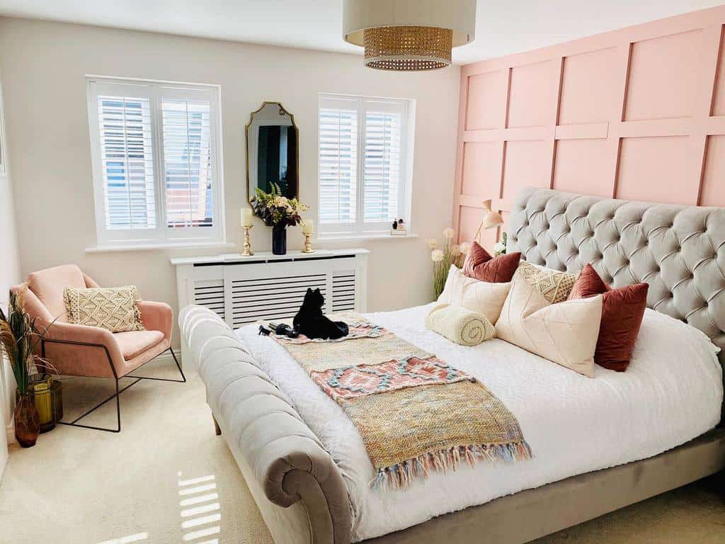 painted wall paneling ideas bee_homeinspired