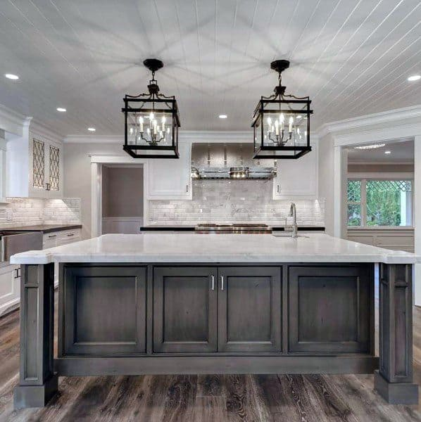 Kitchen Cabinets Painting Ideas: Top 70 Best Kitchen Cabinet Ideas