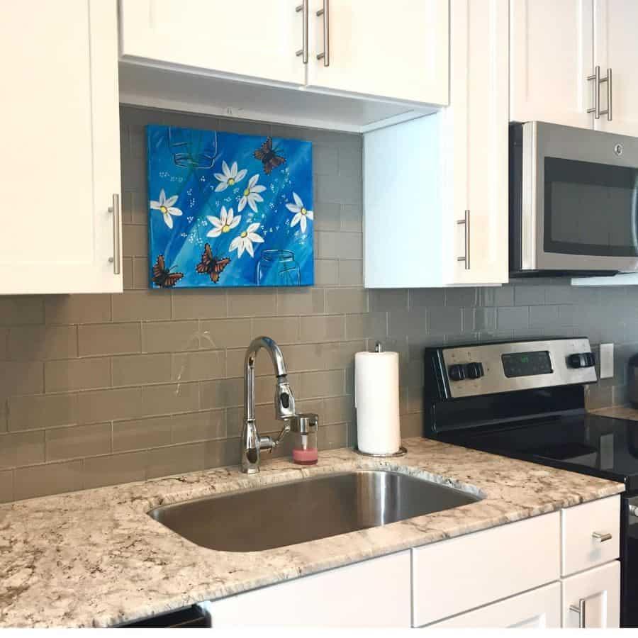 painting kitchen wall decor ideas madebyyudelin