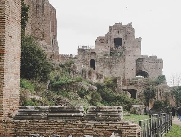 Palantine Hill Roman Forum