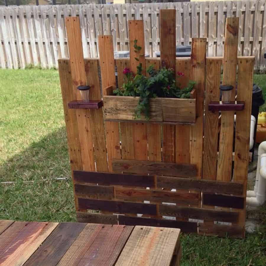 pallet fence garden ideas corrinhallett