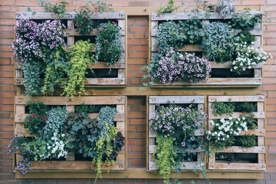 pallet vertical garden ideas 1