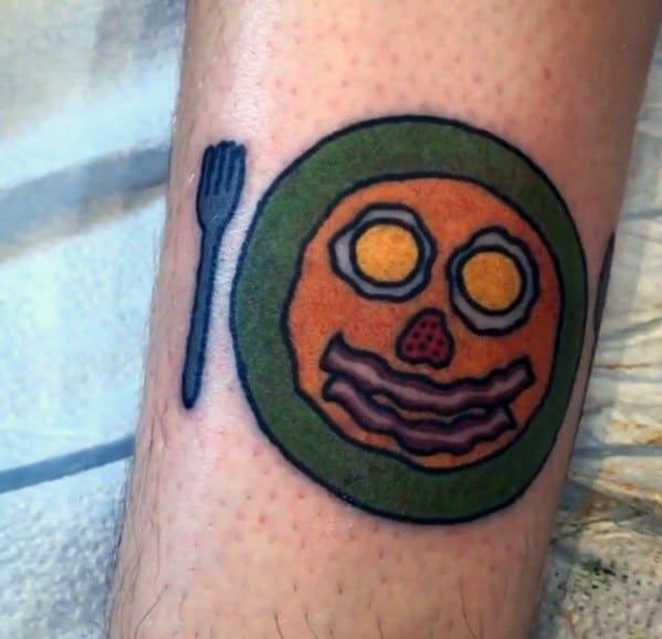 Pancake Tattoos For Gentlemen