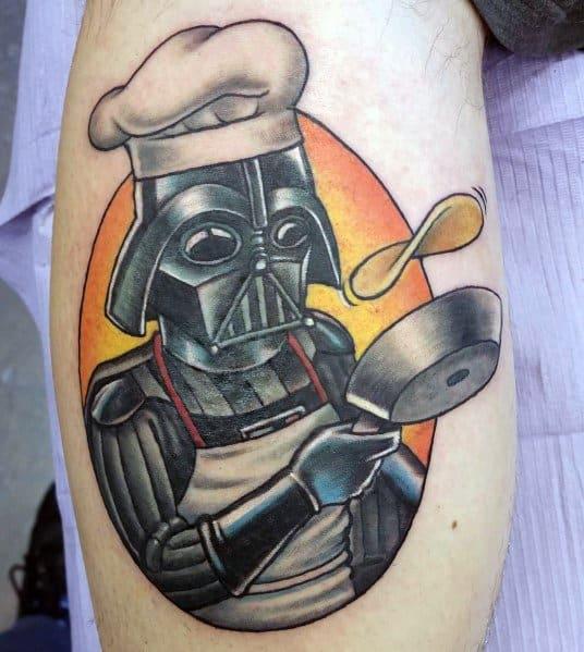 Pancake Tattoos For Men
