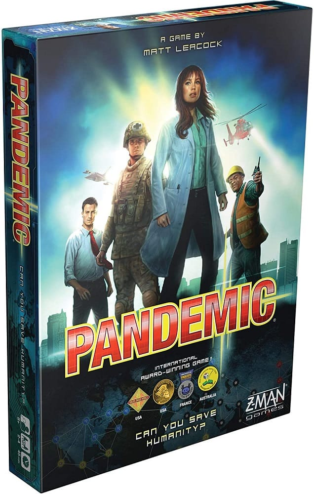 z man pandemic adult board game