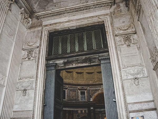 Pantheon Doors Rome