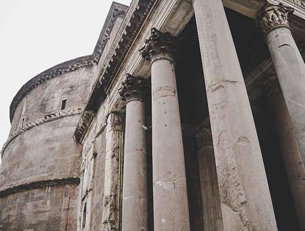Pantheon Front Entrance
